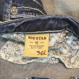 Big Star Jeans - Big star Maddie mid rise fit jeans slight bootcut